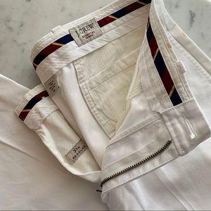 J.Crew | Essential Chino Preppy White Pant